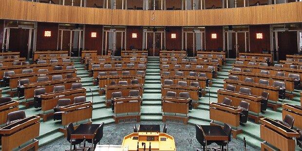Weniger Einigkeit im Parlament