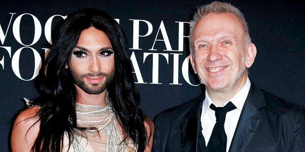 Conchita Wurst: Paris-Flirt mit Gaultier