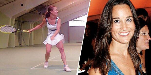 Pippa Middleton: Tennis im Waldviertel