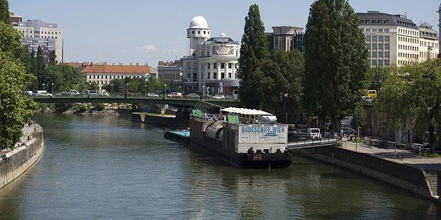 Mann stieß Fremden bei Salztorbrücke in Donaukanal