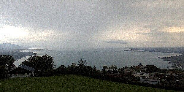 Schweiz-Unwetter bedrohte Österreich