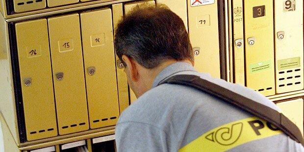 Postler hortete 24.000 Briefe in Wohnung