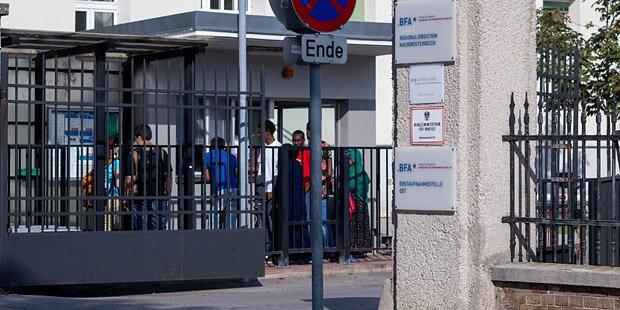 Traiskirchen hätte Platz für 1.840 Asylanten