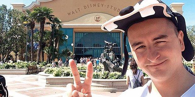 Gabalier: Gruß aus Disneyland