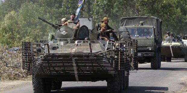 Ukraine: Scharmützel um Rotkreuz-Konvoi