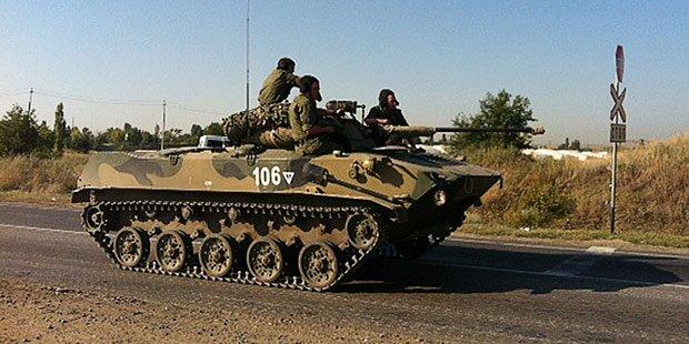 Fotobeweise für russischen Militär-Vorstoß