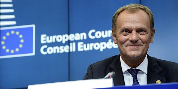 Tusk: Sondergipfel zur Zukunft der EU im September
