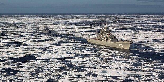 Putin stockt Militär-Präsenz in Arktis auf