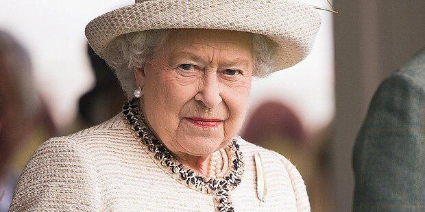 Queen zittert um ihr Königreich