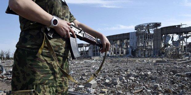 Ukraine: 15 Tote bei blutigen Gefechten