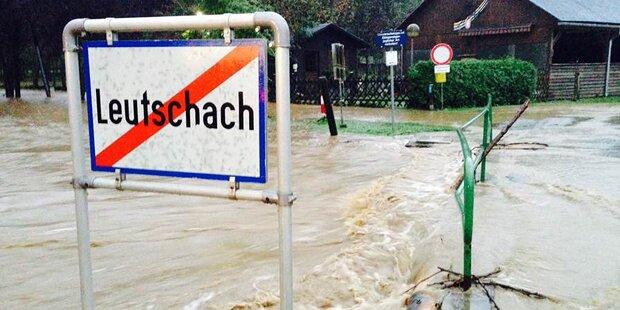 Dauerregen: Das Sintflut-Weekend