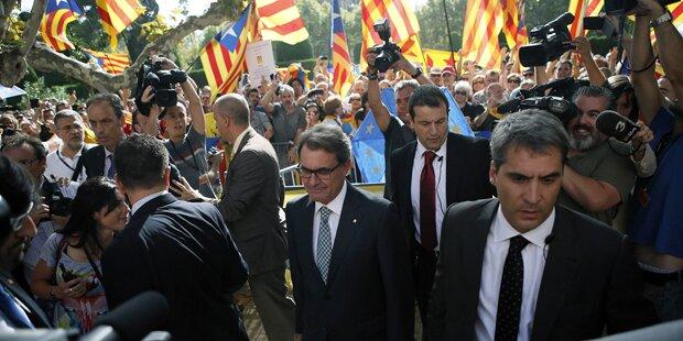 Auch Katalanen stimmen über Unabhängigkeit ab