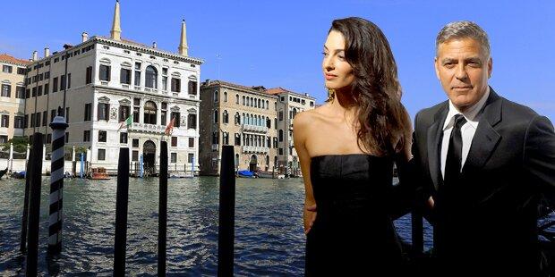 Clooney: Hochzeit am Canal Grande
