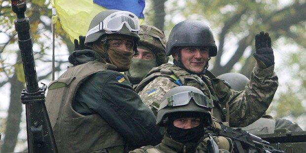 Neue Gefechte, Zerstörungen in Donezk