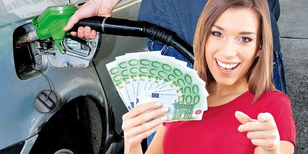Benzin und Diesel werden zum Ferienstart billiger