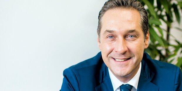 FPÖ-Chef Strache unterstützt Pegida