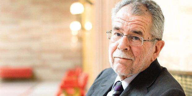 Van der Bellen: Will er Präsident werden?