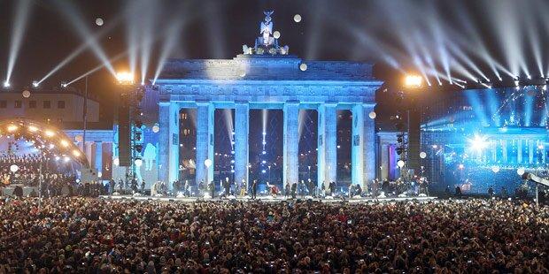 Ganz Deutschland feiert Mauerfall