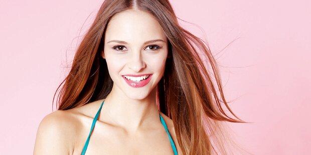 Julia ist unter Top 25 bei Miss World