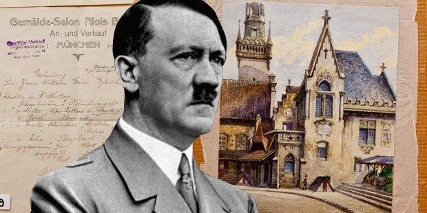 Hitler-Aquarell um 130.000 Euro versteigert