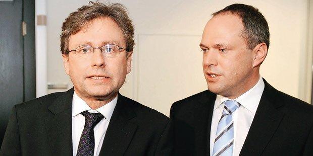 Grasl & Wrabetz im ORF-Machtkampf