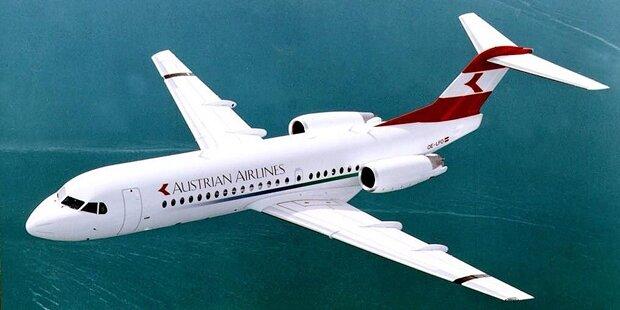 Wut-Passagier zwingt AUA-Maschine zur Landung