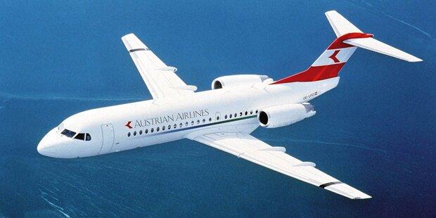 Rauch in Kabine: AUA-Jet musste umkehren