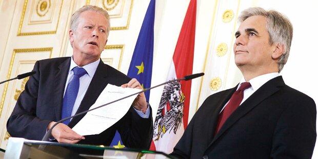Steuerreform: Spitzen-Talks vor Neujahr