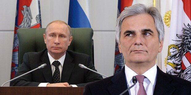 Kanzler gegen schärfere Russland-Sanktionen