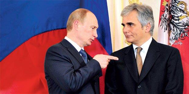 Faymann: Friedens-Signal an Putin