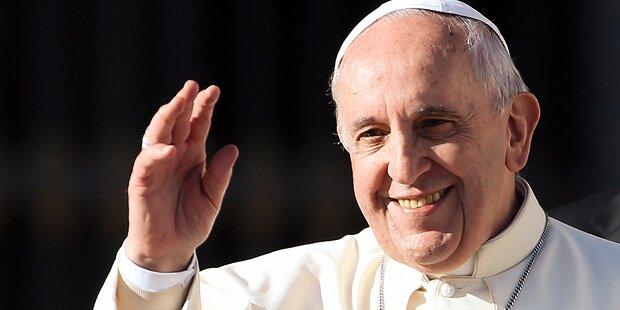 Papst rief zu Frieden in der Welt auf