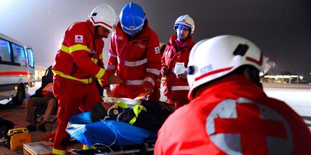Fünf Jugendliche bei Autounfall verletzt