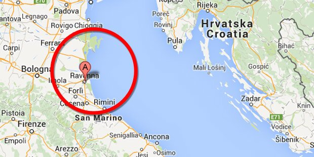 Tanker nach Kollision in Adria gesunken