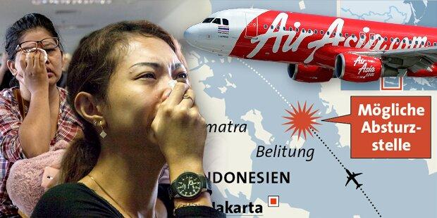 AirAsia-Flug QZ8501 wohl abgestürzt