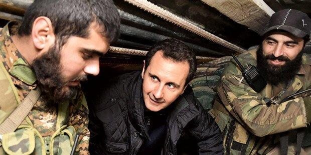 Assad spricht von