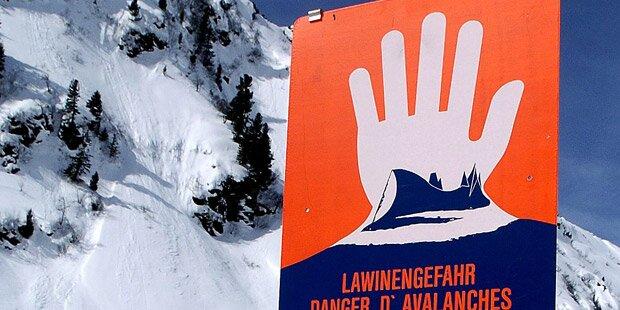 Lawine in Tirol - Opfer reanimiert
