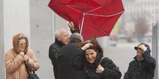 Jetzt kommt Kaltfront mit Regenschauern