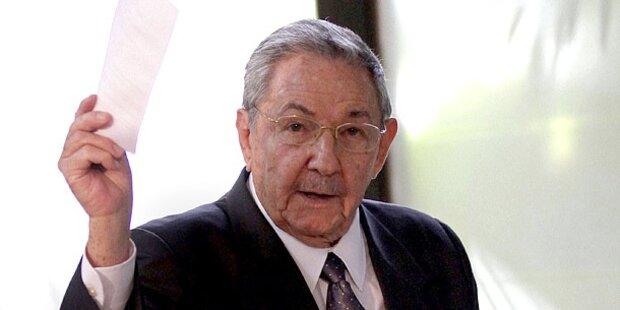 Castro lässt 30 Gegner festnehmen