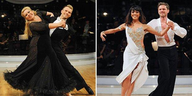 Hirschler und Shaki sind die Dancing-Queens