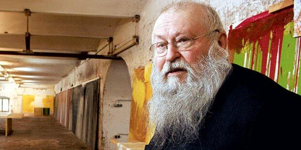 Steuer-Razzia bei Maler Hermann Nitsch