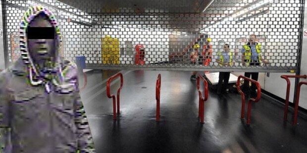 Vier Jahre Haft für Sex-Attacke bei U-Bahn