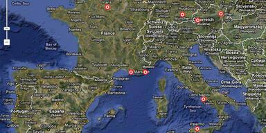 Bankomatkarte gestohlen, dann Europa-Trip