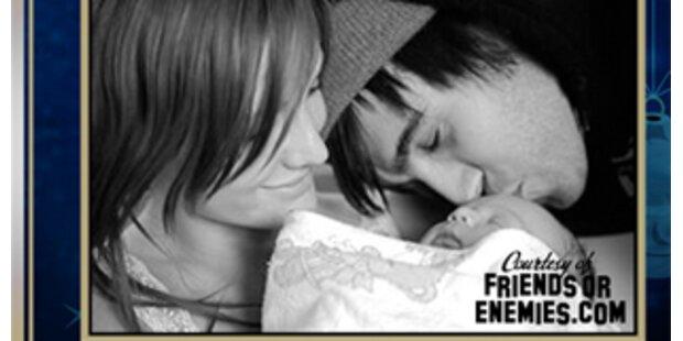 Ashlee Simpson & Pete Wentz: Das erste Babyfoto