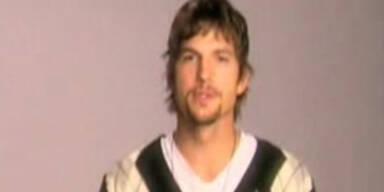 """Ashton Kutcher: """"I pledge"""""""