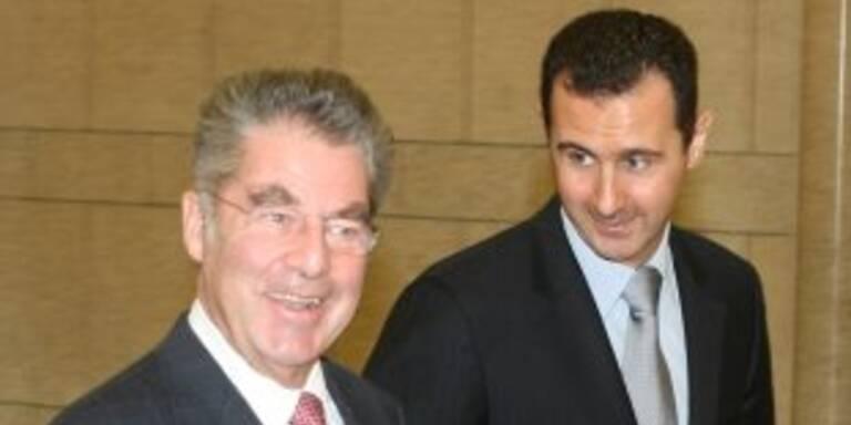 Heinz Fischer besuchte Bashar Assad in Damaskus