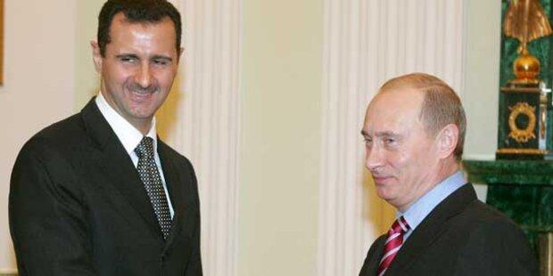 Putin lädt syrisches Terror-Regime ein