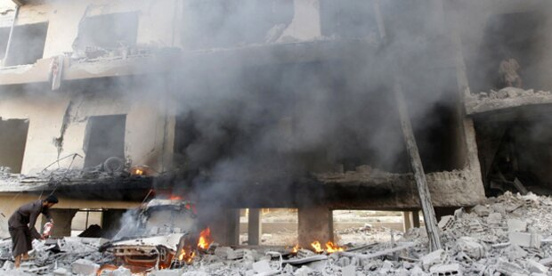 Syrien: Raketen auf Assads Auto?