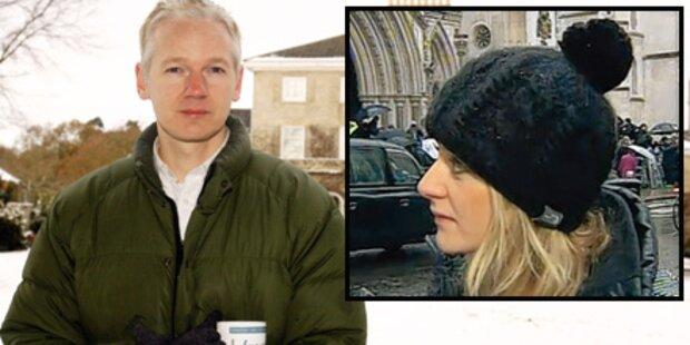 Österreicherin kämpft für Assange