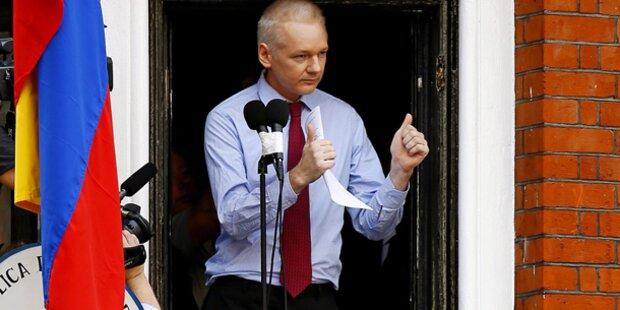Assange klagt Hexenjagd an