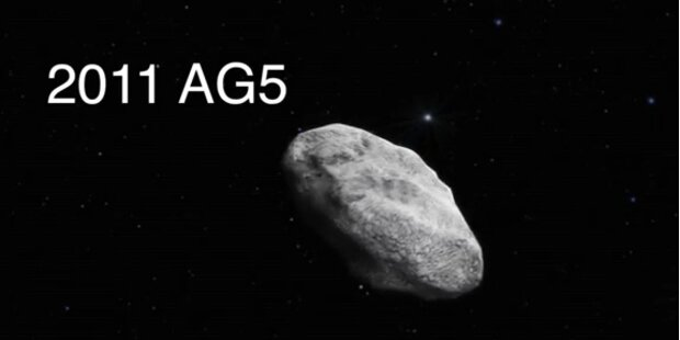 Kollisionskurs: Asteroid rast auf Erde zu